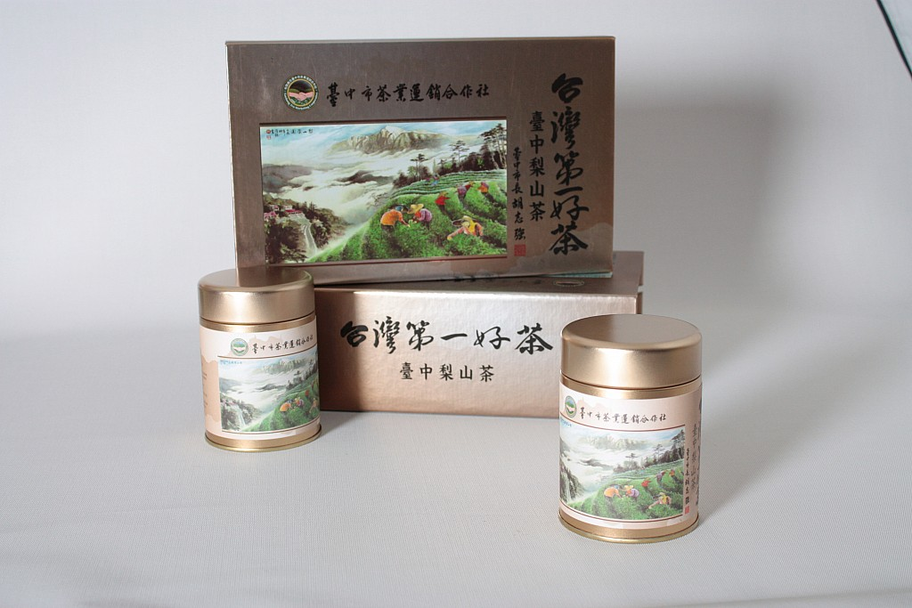 梨山~合作社禮盒(金)75G(2入)